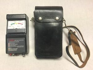 Tramex Wet Roof Detector Non Intrusive Moisture Detector Leather Carrying Case