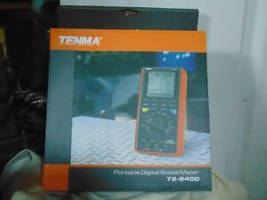 Tenma 72 8400 Portable Digital Scope Meter New In Box