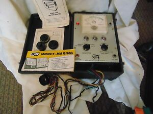 Vintage B k 400 Cathode Ray Tube Rejuvinator Tester C40 Adapter Kit Manual