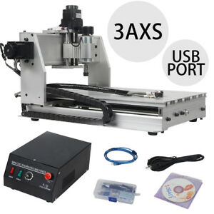 Usb Cnc Router 3 Axis 3040 Engraver Engraving Cutting 300x400mm Machine Milling