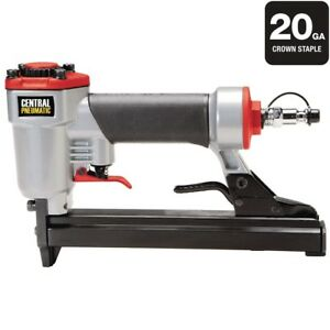 Gauge Wide Crown Stapler Air 360 Adjustable Continuous Operation 20