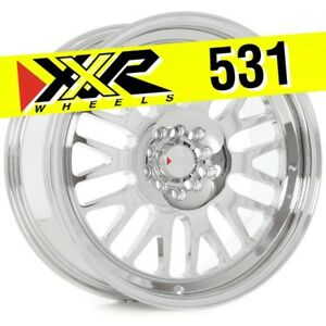 Xxr 531 18x8 5 5 100 5 114 3 35 Platinum Wheels Set Of 4