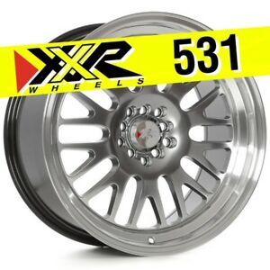Xxr 531 18x9 5 5 100 5 114 3 20 Chromium Black Wheels Set Of 4