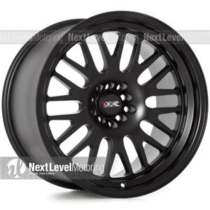 Xxr 531 18x11 5 100 5 114 3 20 Flat Black Wheels Set Of 4