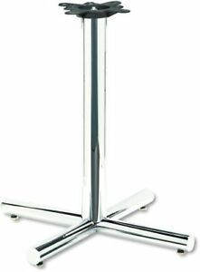 Hon Xsp 26 Hospitality Table Base 26 Height Steel Chrome xsp26chr