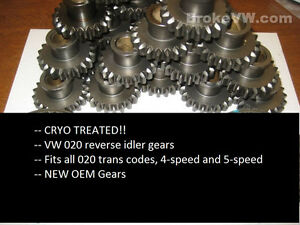 Vw 020 Reverse Idler Gear Cryo Treated Brokevw com Transaxle Transmission