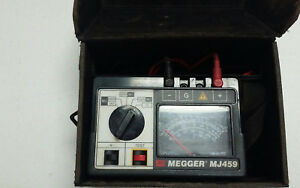 f Megger Mj 459 Insulation Tester With Leads t 15444