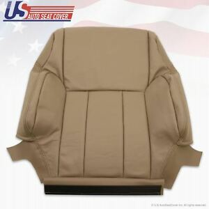 Fits 1999 2000 01 02 Toyota 4runner Driver Top Lean Back Leather Seat Cover Tan