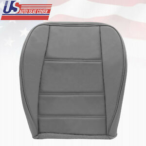 1999 2000 Ford Mustang Convertible V6 Driver Side Bottom Leather Seat Cover Gray