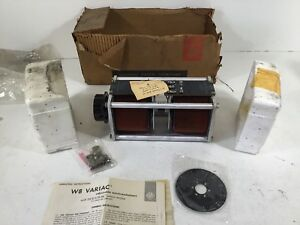New General Radio Co W8g2 Variac Variable Transformer