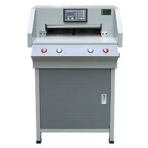Pro Programable Automatic 19 3 Electric Paper Cutter 490mm Cutting Machine