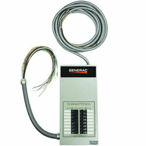 Generac 100 amp Indoor Automatic Transfer Switch W 16 circuit Load Center
