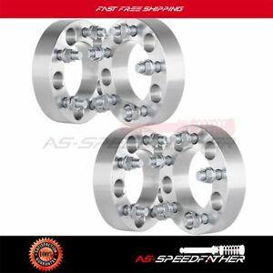 4x 1 25 Thick 5x4 5 Wheel Spacers 1993 1998 For Jeep Grand Cherokee Wrangler