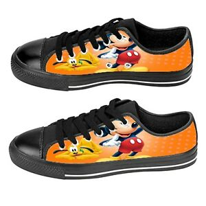 Custom Aquila Shoes For Kids And Adult Mickey Mouse 4 Shoes