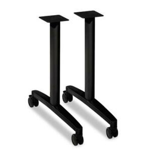 Hon Huddle Multipurpose Table T leg Base 2 Legs 28 Height mtleg24cp