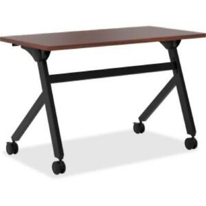 Basyx By Hon Chestnut Laminate Multipurpose Table 29 50 X 48 X bmpt4824pc