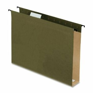 Esselte Extra Capacity Hanging File Folder Letter 8 50 X 11 2 6152x2