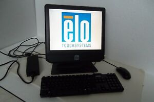 Elo Esy15b3 Touchscreen Pos Pc Intel 15 C2d 3 0ghz 2gb Hdmi 320gb 15b3 E630820