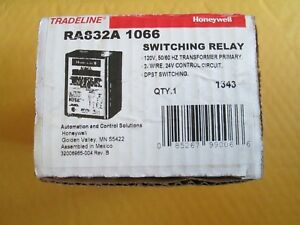 Honeywell Ra832a1066 2 Zone 120v Switching Relay