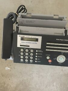 Fax Machine Digital Answering Machine Sharp Ux A1000 Great Condition