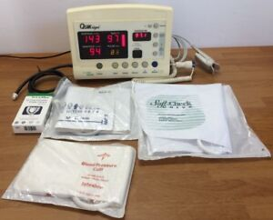 Welch Allyn Protocol Quick Signs 52000 Series Vital Signs Monitor Nibp Spo2 Temp