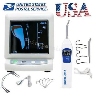 Dental Color Lcd Apex Locator Root Canal Meter Pulp Tester Oral Teeth Nerve usa