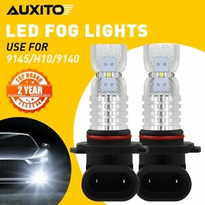 High Power 2020smd H10 9140 9145 Led 6000k Super White Fog Lights Bulbs 3000lm
