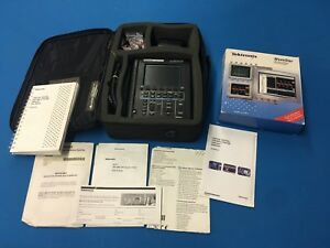 Excellent Condition Used Tektronix Ths720 Portable Oscilloscope