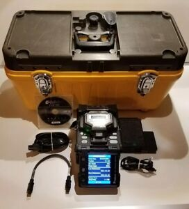 Fujikura Fsm 18s Sm Mm Fiber Fusion Splicer With Only 6334 Arc Count