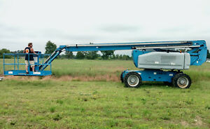 Genie Z80 60 4x4 Articulated Manlift Boom Lift Industrial Construction Equipment
