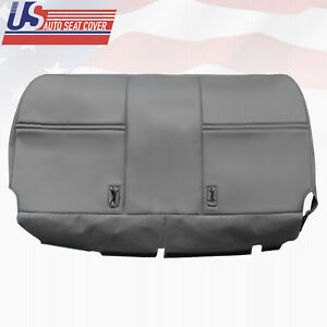 2003 2007 Ford F250 F350 F450 Xl bottom Bench Seat Replacement Vinyl Cover Gray