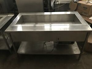 Custom Refrigerated Prep Table