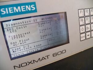 Seimens Noxmat 600 No No2 Nox Cem Gas Analyzer