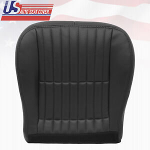 2000 2001 2002 Chevy Camaro Ss Rs Z28 Driver Bottom Seat Cover Charcoal Black