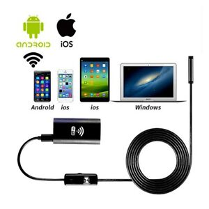 10m 6led Wifi Waterproof Endoscope Borescope Inspection Camera For Andriod Ios
