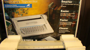 Smith corona Na3hh Display Dictionary Electronic Typewriter Word Processor Boxed