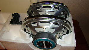 Pair Of New 6x9 Sparkomatic Car Speakers 20 Oz Magnet