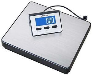 Heavy Duty Shipping Postal Scale Steel Accuteck A bc200 200lb X 0 2 Oz Digital