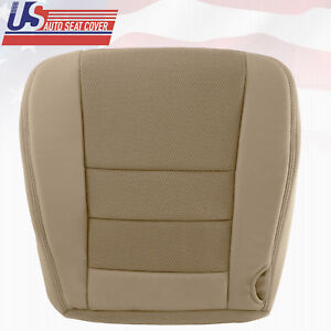 2005 2006 Ford F 250 F 350 Super Duty Driver Bottom Cloth Seat Cover 2 Tone Tan