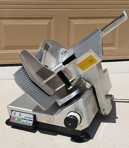 Bizerba Se12d Commercial Automatic Manual Heavy duty Meat Cheese Deli Slicer