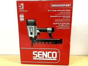 Senco Sns200xp bst Air Pneumatic 17 16 Gauge 7 16 Crown 2 Wire Stapler Staple