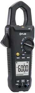 Flir Cm83 Power Clamp Meter 600a With Vfd And Bluetooth Ac dc watts