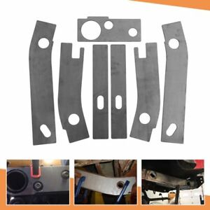 Fit For 1986 1995 Jeep Wrangler Yj Rear Frame Repair Rusted Shackle Weld Plate