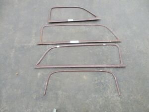 1949 50 51 Ford Merc Woodie Inside Window Moldings Missing Front Right Side
