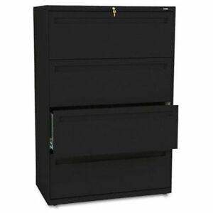 Hon 700 Series Lateral File With Lock 36 X 19 3 X 53 3 Steel 4 784lp