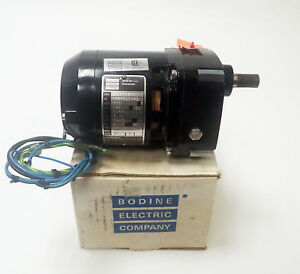 Bodine Electric Nci 11d4 Single Phase Motor 115 Vac 19 Rpm 7 5 W