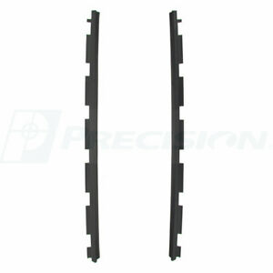 New Front Outer Beltline Molding Window Sweep Pair For 88 99 Chevy Gmc Trucks