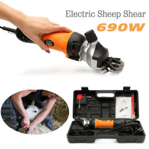 690w 220v Electric Shearing Clipper Animal Sheep Goat Pet Farm Machine Us Ship
