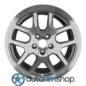 Ford Mustang Shelby Gt500 18 Oem Svt Wheel Rim Machined Charcoal
