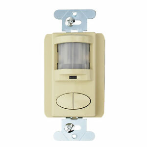 Sensor Switch Wsd 2p iv Control Wall Switch Occupancy Sensor Ivory